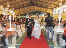Casamento comunitário oficializará união de 100 casais