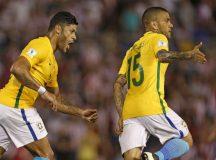 Brasil sai atrás, mas arranca empate com Paraguai