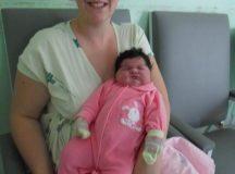 Criança com mais de 6 quilos nasce no Hospital Municipal Carolina Lupion