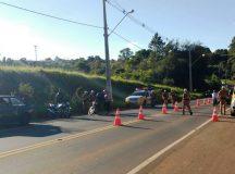 """PM realiza segunda fase da """"Operação Conjunta Forças de Segurança dos Campos Gerais"""""""