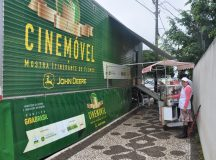 Cinema Itinerante da Fundação John Deere esteve em Arapoti