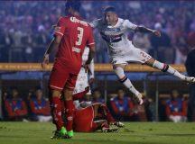Tricolor domina o Toluca e larga na frente nas oitavas da Libertadores