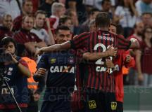 Hernani marca na vitória sobre o Brasil de Pelotas e garante Atlético na sequência da Copa do Brasil