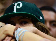 Eliminado, Palmeiras dá adeus à Libertadores com goleada e aplausos