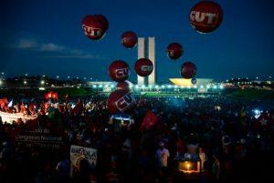 protesto brasilia