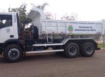 Arapoti adquire caminhão caçamba de R$ 270 mil para estradas rurais