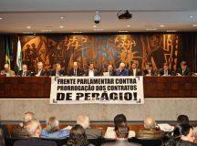 Assembleia lançou Frente Parlamentar contra renovação dos Pedágios