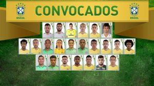 Dunga convoca os 23 jogadores da Seleção Brasileira para Copa América