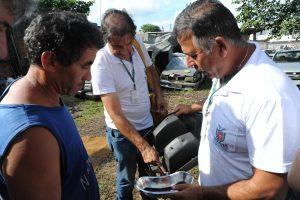 Estado cria força tarefa e vai aplicar fumacê contra a dengue em Paranaguá. Paranaguá, 05/04/2016. Foto: Divulgação SESA