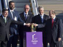 Chama Olímpica chega ao Brasil; siga o caminho da tocha