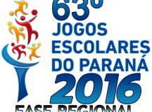 Jaguariaíva recebe fase regional dos Jogos Escolares do Paraná