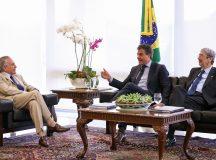 Richa e Temer retomam projetos do Paraná junto ao governo federal