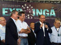 "Alckmin enaltece trabalho de Richa: ""Vamos na proa do Paraná"""