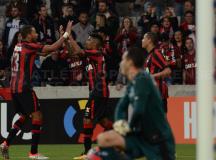 Com gols de Ewandro e Thiago Heleno, Rubro-Negro derrota o Figueirense