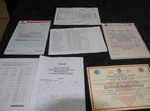 Sete pessoas são presas suspeitas de falsificar diplomas