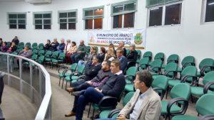 Prefeito Braz Rizzi participou da sessão que também teve uma homenagem aos imigrantes holandeses