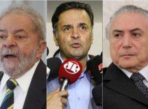 Pesquisa de intenção de voto mostra Lula na liderança para 2018