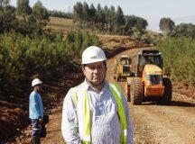Amável Diniz Roque, proprietário da empresa Agroroque Terraplanagem e Locações. Ortigueira, 24/06/2016. Foto: Pedro Ribas/ANPr