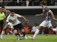 Corinthians perde para o Fluminense em primeiro jogo sem Tite