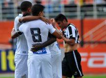 No Pacaembu, Santos faz 3 a 0 no Botafogo e volta a vencer no Brasileirão