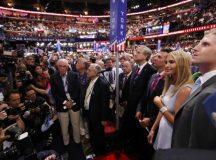 Partido Republicano oficializa candidatura de Trump à Presidência