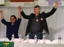 Convenção define o nome de Juca à reeleição e o de Alcione para vice