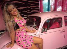 """""""Barbie"""" de Arapoti decide ingressar na política e lança pré-candidatura a vereadora"""