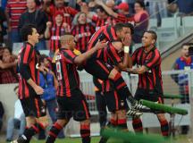 Atlético vence o Fluminense e chega aos 27 pontos no Brasileirão