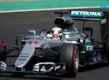 Hamilton supera Rosberg, bate recorde e se torna líder do campeonato da F-1