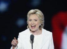 Hillary Clinton promete geração de empregos ao ser indicada candidata democrata