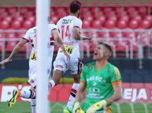 Tricolor goleia o América-MG antes de seguir para Medellín
