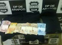 Violência: Drogas, furtos e tiros na noite de quinta-feira em Arapoti