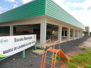 Escola Municipal Maria de Loudes Oliveira Taques alcançou a maior nota de Jaguariaíva. 6.8. Foto: Divulgação