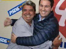 Deputado Paulo Litro declara apoio a Carlinhos Ratinho em visita a Arapoti
