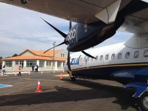 Aeroporto de Ponta Grossa passa a contar com voos comerciais para Campinas. Foto: Rodrigo K. Silva