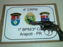 PM apreende revólver com menor de 14 anos na Vila Romana