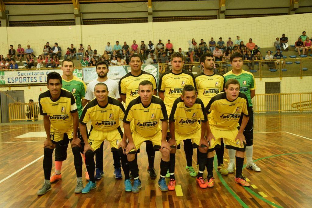 Ipiranga conquista o campeonato municipal de futsal. Foto: Elliezer José da Silva