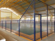 Nova quadra coberta na área central ampliará oportunidades de esporte e de lazer para crianças
