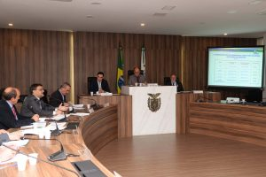 Assembleia Legislativa,Apresentação de contas orçamentárias da SESA. Secretário de Estado da Saúde,  Michele Caputo Neto. Curitiba,04/10/2016 Foto:Venilton Küchler