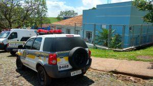 Crianças foram levadas para observação no Hospital Municipal improvisado