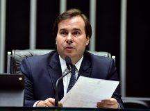 Rodrigo Maia. Foto: Agência Câmara