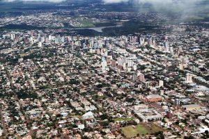 Cascavel, vista parcial aérea. Foto: José Fernandor Ogura