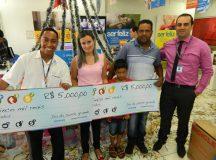 Cliente do Magazine Luiza de Arapoti ganhou R$ 5 mil