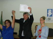 Juca, Alcione e 13 vereadores são diplomados pela Justiça Eleitoral