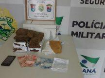 Polícia prende rapaz com 5kg de maconha e 1kg de crack na Rodoviária de Jaguariaíva