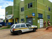 Criminosos assaltaram agência dos Correios nesta segunda