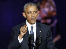 O presidente dos Estados Unidos Barack Obama faz seu discurso de despedida KAMIL KRZACZYNSKI/EPA/LUSA/ Todos os Direitos Reservados