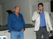 Ghassan Saab (esq.) e Chadi Chawiche apresentaram a GMH aos produtores