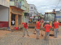 Revitalização da Avenida Antônio Cunha em Jaguariaíva teve início nesta semana