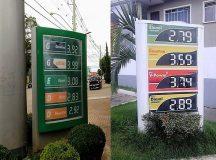 Combustível: Jaguariaíva tem um dos preços mais baixos. Já Arapoti um dos mais caros da região